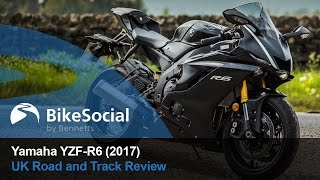 6. Yamaha YZF-R6 (2017) Road and Track Review | BikeSocial