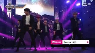 Video BTS -  TOMORROW ( BTS COUNTDOWN 20171012 @M COUNTDOWN) MP3, 3GP, MP4, WEBM, AVI, FLV Desember 2018