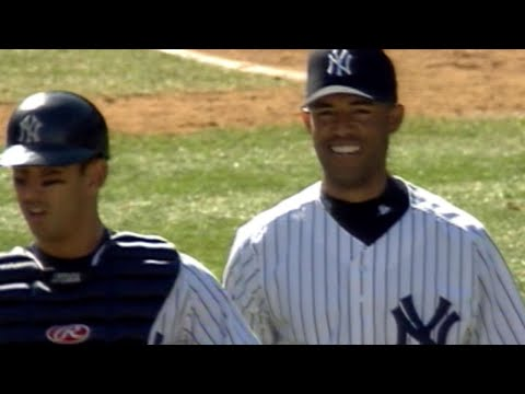 Video: Mo picks up his first save of the 2001 season