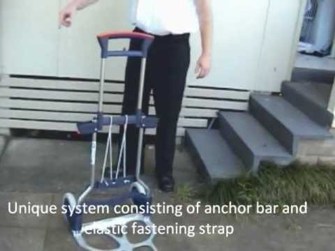 RuXXac Business XL Folding Hand Truck Collapsible Trolley