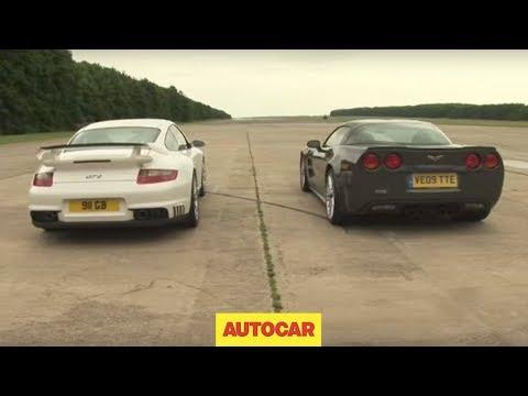 porsche 911 gt2 v corvette zr1 gara lunga un miglio! - chi è più veloce?