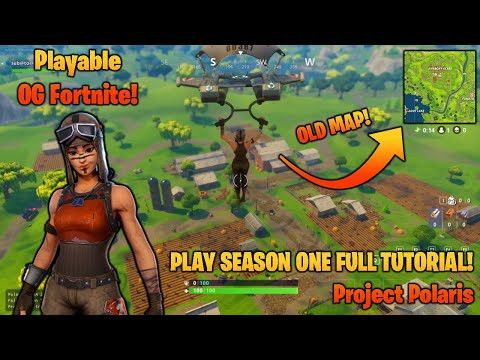 HOW TO PLAY FORTNITE SEASON 1 IN 2020! | Project Polaris Full Tutorial