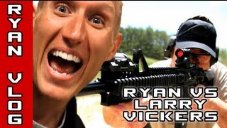 Larry Vickers goes head to head with Ryan to determine who is...the ultimate foosball champion. This episode is sponsored by Desert Tactical Arms, Armament T...