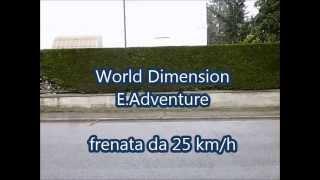 Test bike E.Adventure - frenata da 25km/h