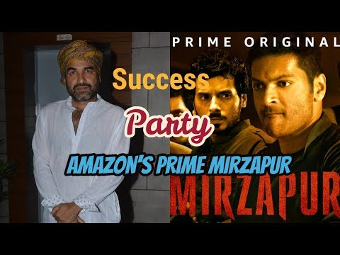 Pankaj Tripathi At Success Party Of Amazon's Prime Mirzapur