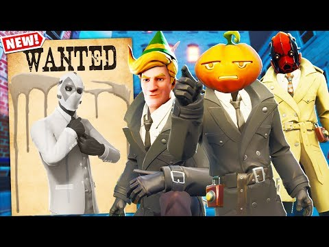 The FORTNITE DETECTIVE STORY MYSTERY.. Ft. Lachlan & Boomer (Fortnite Creative Mode)