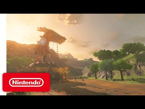 The Legend Of Zelda : Breath of the Wild - Trailer Game Awards 2016