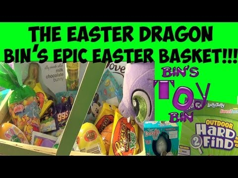 bin - Happy Easter! The Easter Dragon makes one final visit! This time we look at Wonka's Hard 2 Find Eggs for both Indoor and Outdoor egg hunting (and hiding!) fu...