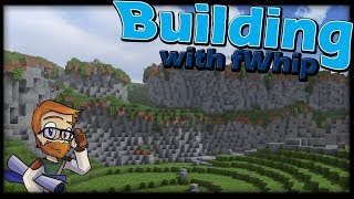 Building with fWhip :: CREATING CLIFFS #80 Minecraft Let's Play 1.12 Single Player Survival