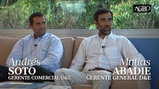 Andrés Soto, Gerente Comercial y Matías Abadie, Gerente General - D&E