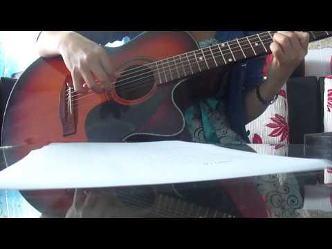 Guitar kèm Tab intro GP5- Nhỏ ơi, cover bản của Chí Tài