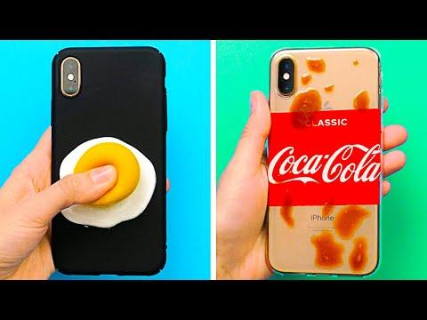 24 COOL DIY PHONE CASE IDEAS