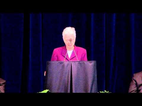 Susan Welch Speaks at Joe Paterno's Memorial Serivce