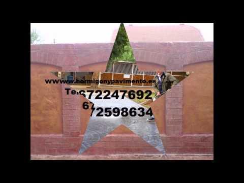 Presupuesto y Precio Hormigon Impreso Barrios de Colina Tel.672247692 Burgos