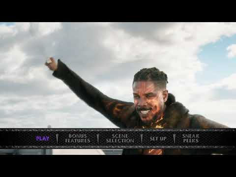 Black Panther (2018) Blu-ray™ Disc Main Menu