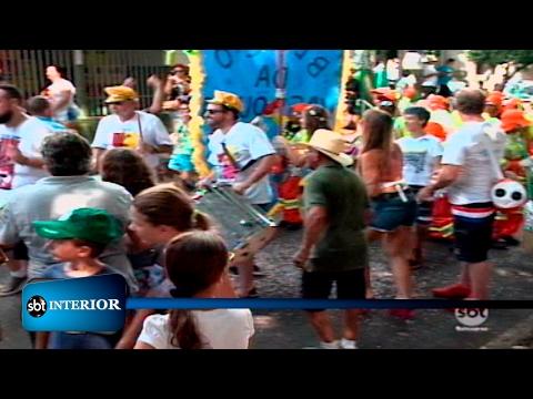 Fim de semana foi de pré-carnaval em Rio Preto