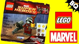 LEGO Marvel Rocket Raccoon & Groot Guardians of the Galaxy Polybag Found