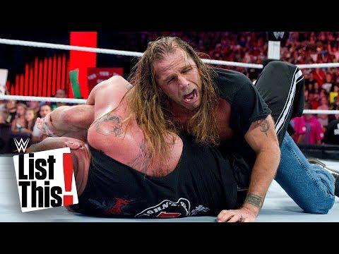 5 bones broken by Brock Lesnar: WWE List This!
