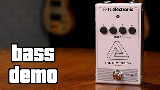 TC Electronic 3rd Dimension Bass Demo