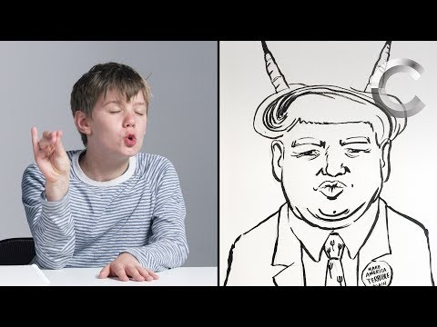 Talbott Describes Trump to an Illustrator