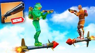 DOUBLE BARREL SHOTGUN JOUSTING in Fortnite Battle Royale