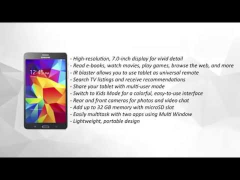 Samsung Galaxy Tab 4 (7-inch, White and Black) Review