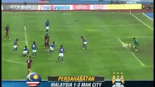Video MALAYSIA VS MAN CITY (3-1 ) FULL MATCH REVIEW  2012 MP3, 3GP, MP4, WEBM, AVI, FLV April 2018