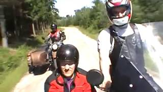 7. Ural motorbike