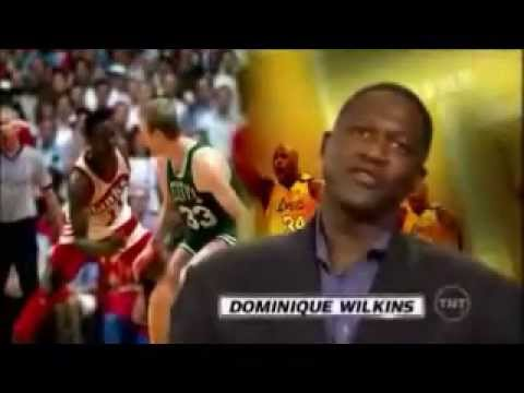Dominique Wilkins Puts Larry Bird On His Ass
