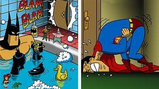 Video FUNNY「BATMAN vs SUPERMAN」COMICS To Make You Laugh. MP3, 3GP, MP4, WEBM, AVI, FLV Desember 2018