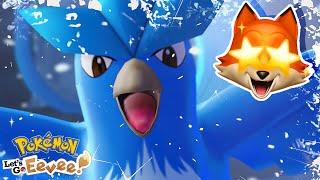 ARTICUNO!! | Pokémon Let's Go Eevee + Pikachu
