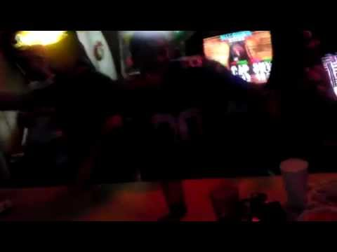 Giants Vs Patriots Superbowl XLVI Reaction @ Dockside