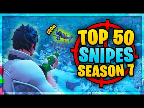Top 50 Best Fortnite Sniper Shots | Season 7 So Far! (best Kills Compilation)