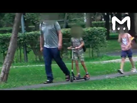 Легко ли увести вашего ребенка с детской площадки
