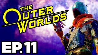 The Outer Worlds Ep.11 - SHRINK RAY, M. BAKONU JOURNAL, WORKBENCH TINKERING! (Gameplay / Let's Play)