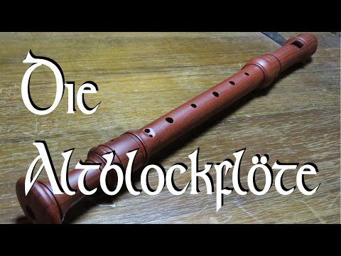 Die Altblockflöte, Instrumentenvorstellung #26 / Mittelaltermarktmusik