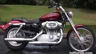 8. Used 2009 Harley Davidson Sportster 883 Custom Motorcycles for sale