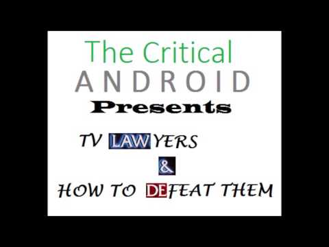 The Critical Cast Episode 10 - TV Lawyers & How to Defeat Them