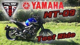9. 2018 Yamaha MT-09 Test Ride