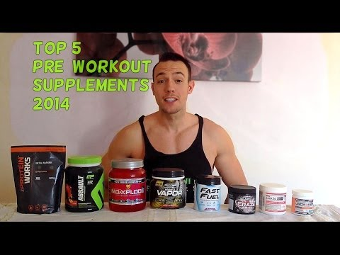 Top 5 PRE-WORKOUT Supplements 2014 (March)