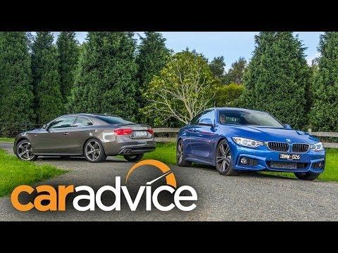 BMW 428i v Audi A5 2.0T Quattro Coupe Review