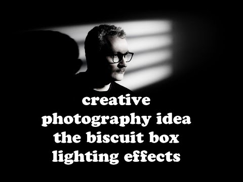 Creative Photography Ideas   The Biscuit Box Lighting Effects