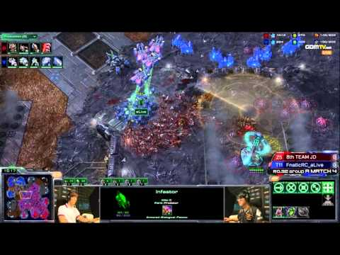 WCS - 8thTEAM_Jaedong vs FnaticRC_aLive WB Ro32 Day1 Match4 Set1 Complete WCS Korea Brackets: http://goo.gl/NssSz More amazing StarCraft II content on http://www.g...