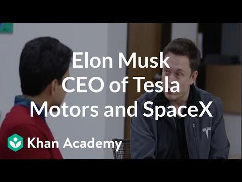 Tesla Careers Login >> Elon Musk Ceo Of Tesla Motors And Spacex Video Khan Academy
