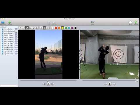 Yumina online golf lesson