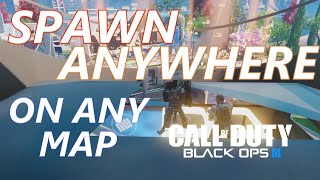 Teleport outside or ontop of any map on Black Ops 3 Bo3 glitches This glitch requires a Talon, Hardened Sentry, HEllstorm and Uplink enabled. It will allow you ...