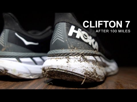 Hoka Clifton 7 - After 100 Miles