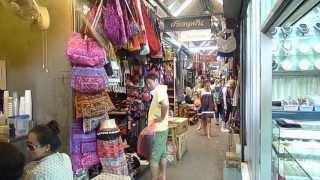 Chatuchak Weekend Market, Jatujak Or JJ Market Thai Bangkok HD