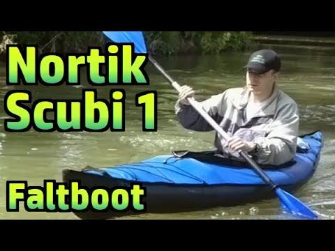 Faltboot / Faltkajak Nortik Scubi 1 Review / Test, auf der Tauber #018