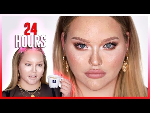 I WORE MAKEUP FOR 24 HOURS!!! ...this Is What Happened!